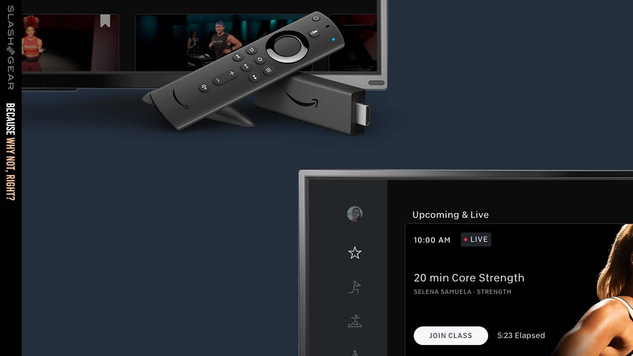 Peloton app launched for Amazon Fire TV exclusively, for now