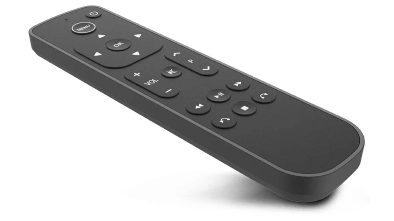 Salt Apple TV remote is the complete opposite of the Siri Remote
