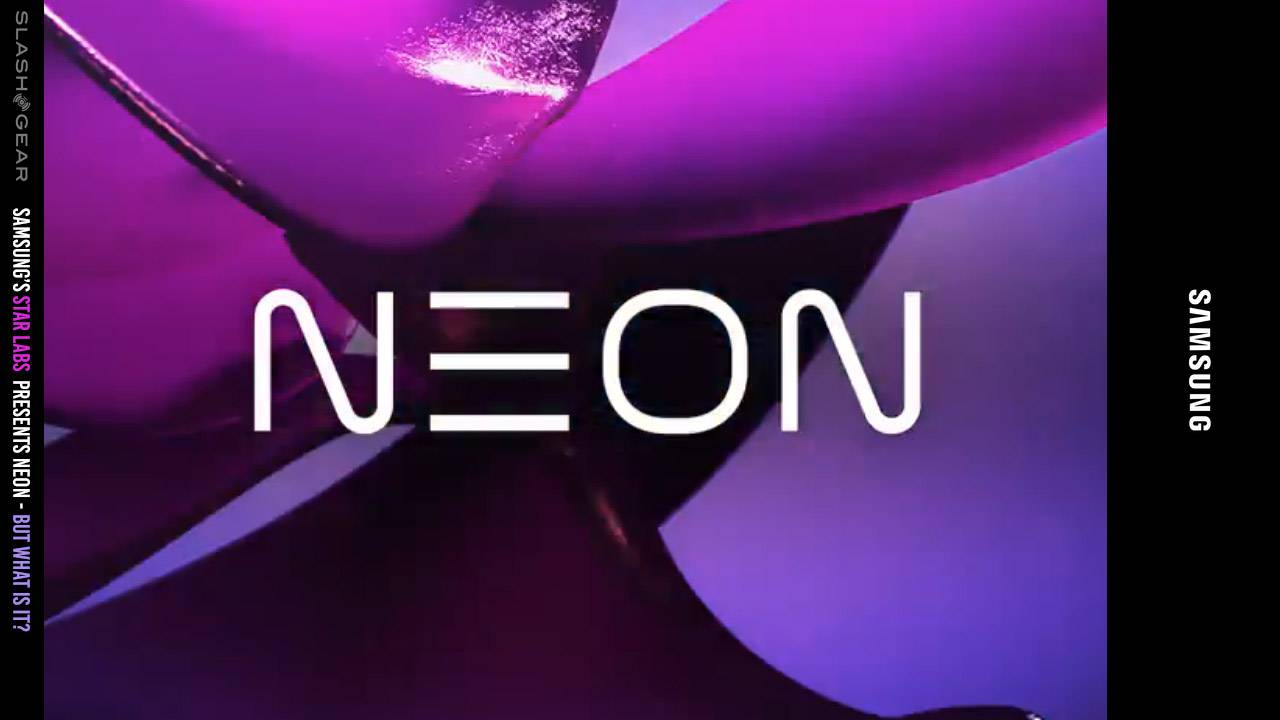 What is NEON? Samsung STAR labs tease mystery for 2020