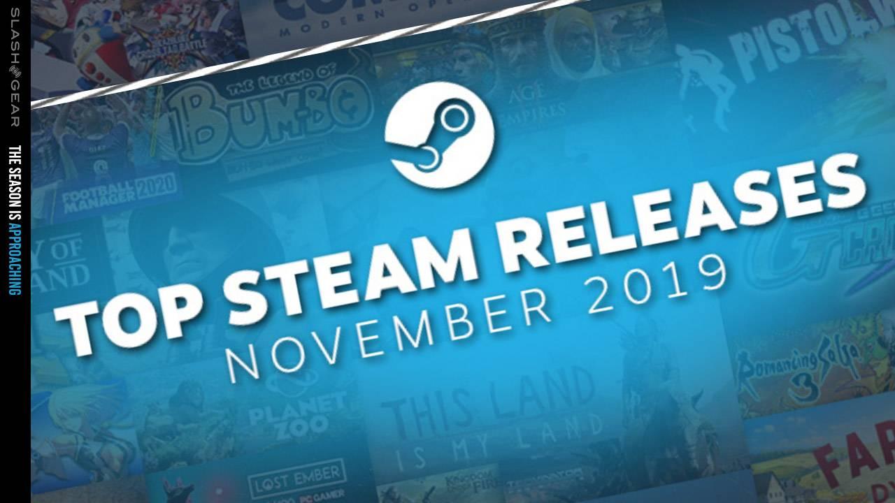 Steam Winter Sale heralded by November Top Releases: Gundam, GoT, Star Wars