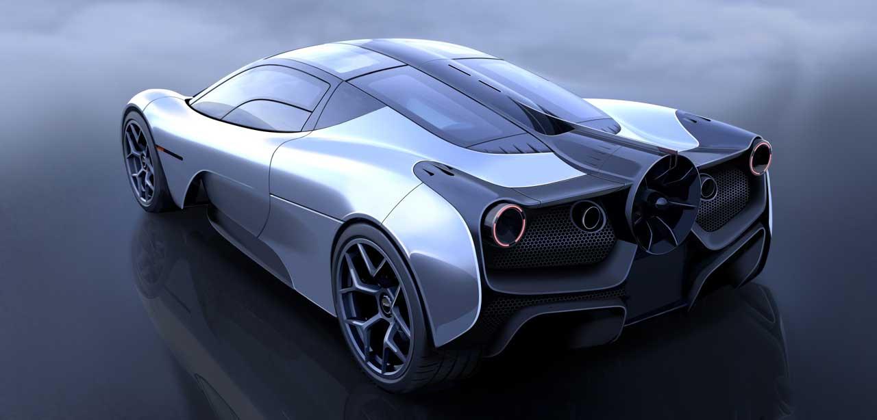 T.50 supercar promises the most advanced aerodynamics ever
