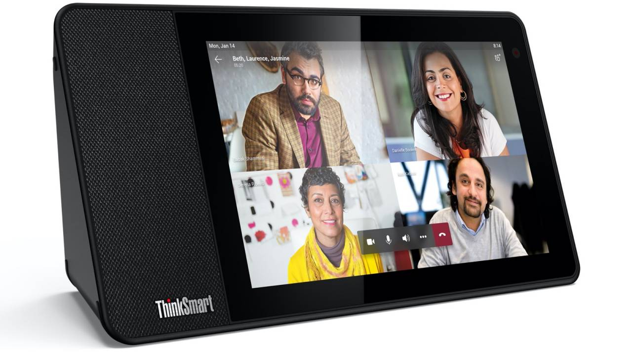 Lenovo ThinkSmart View gives Microsoft Teams video calls a dedicated screen