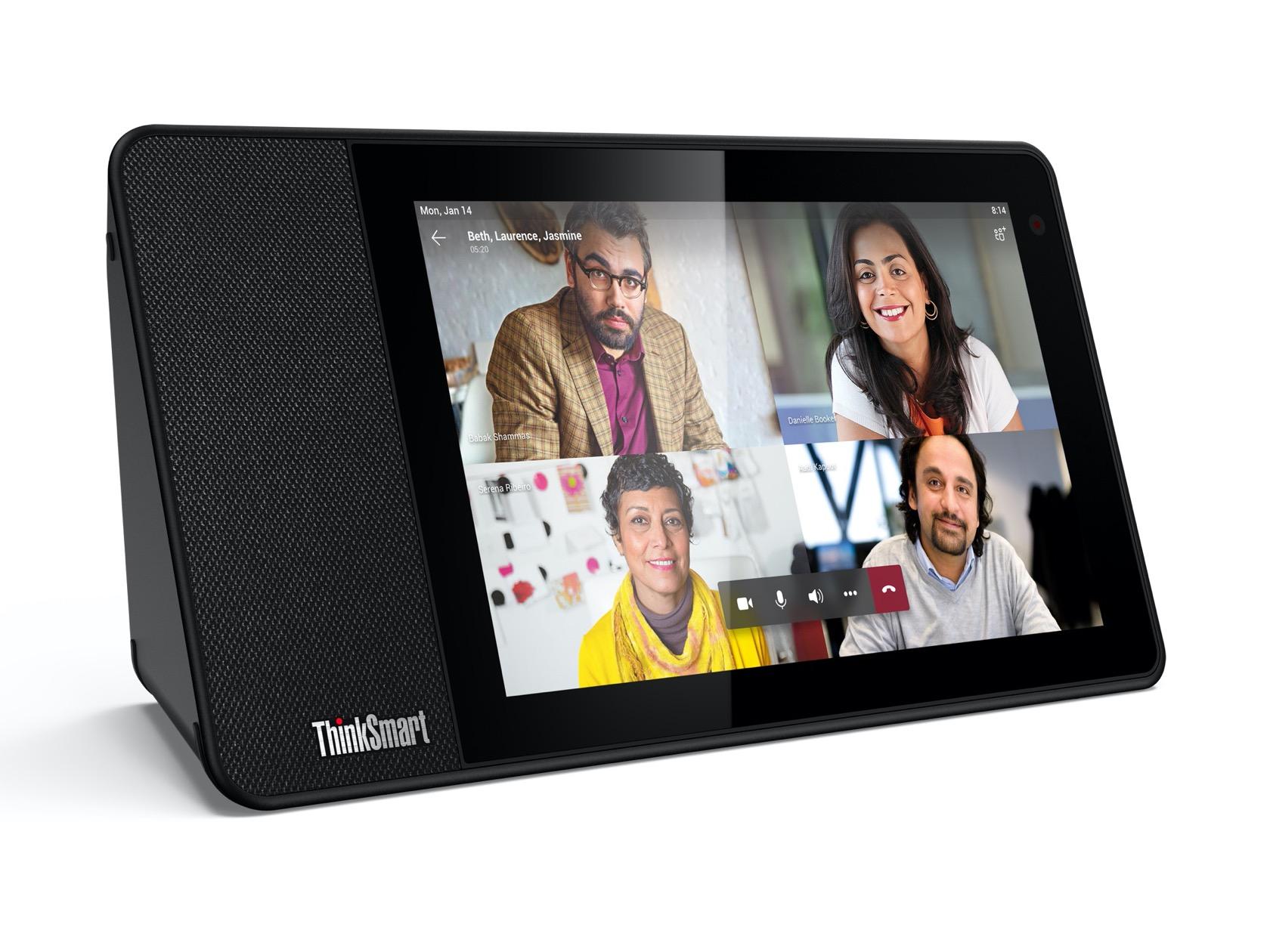 Lenovo ThinkSmart View gives Microsoft Teams video calls a ...