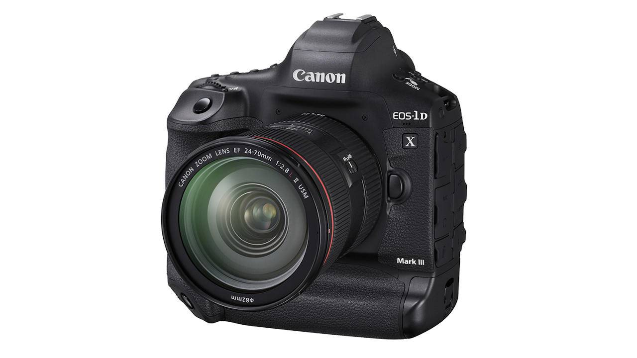 Canon EOS-1D X Mark III DSLR puts the focus on AF