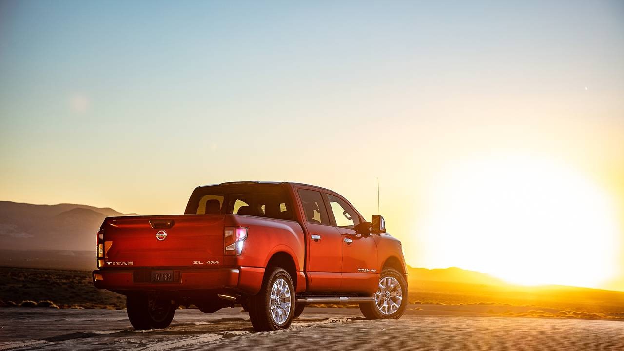 2020 Nissan Titan starts at $36,190