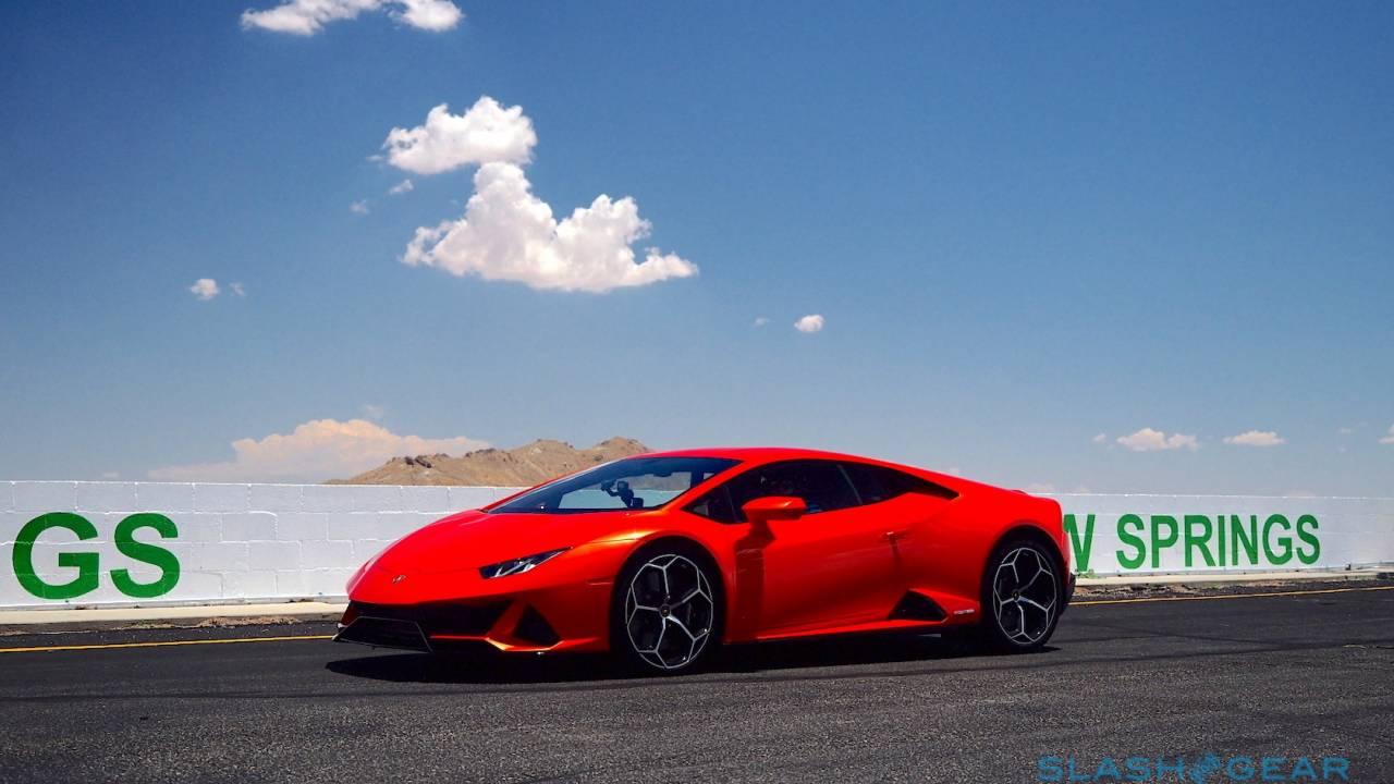Lamborghini embeds Alexa as your Huracán EVO co-pilot