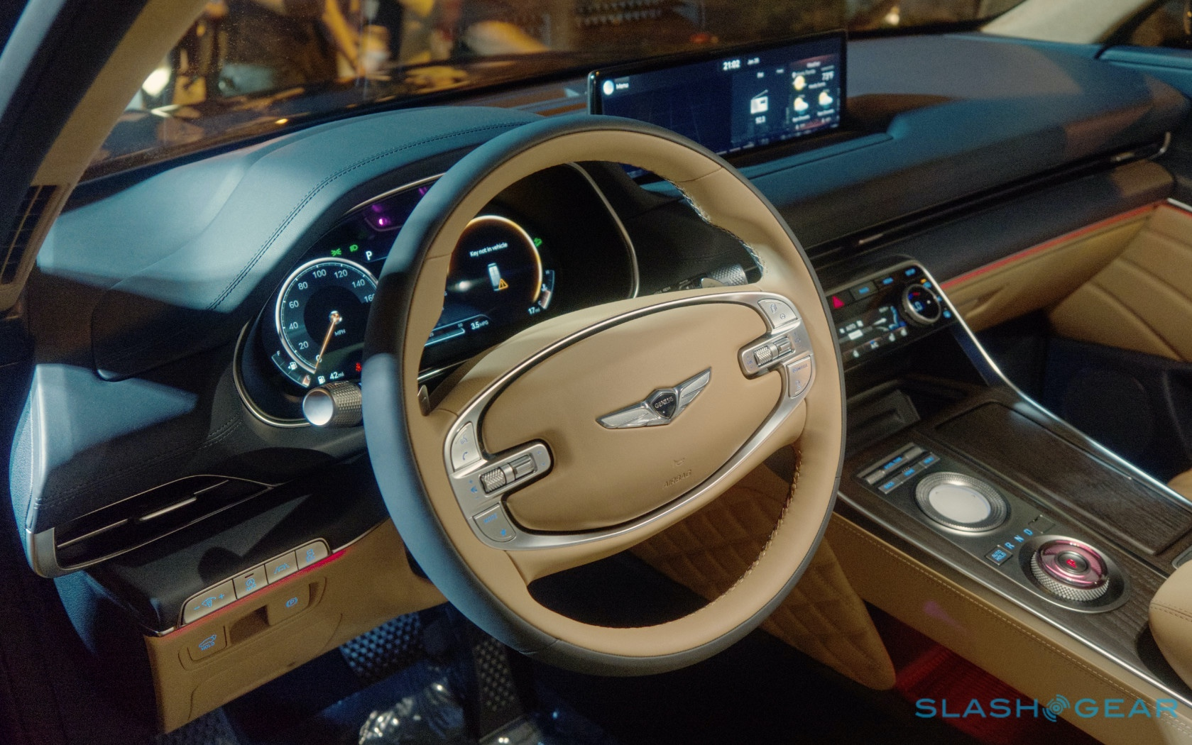 For The 2021 Genesis Gv80 The Brand S First Suv One Thing Is Already Clear Slashgear