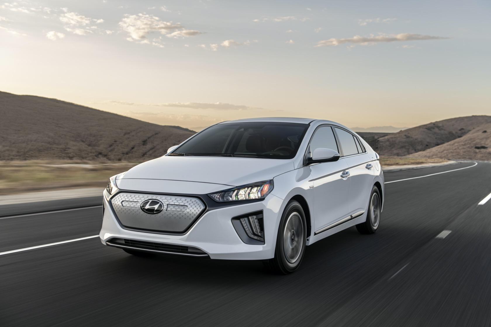 2020 Hyundai Ioniq Electric rises in range, power and price - SlashGear