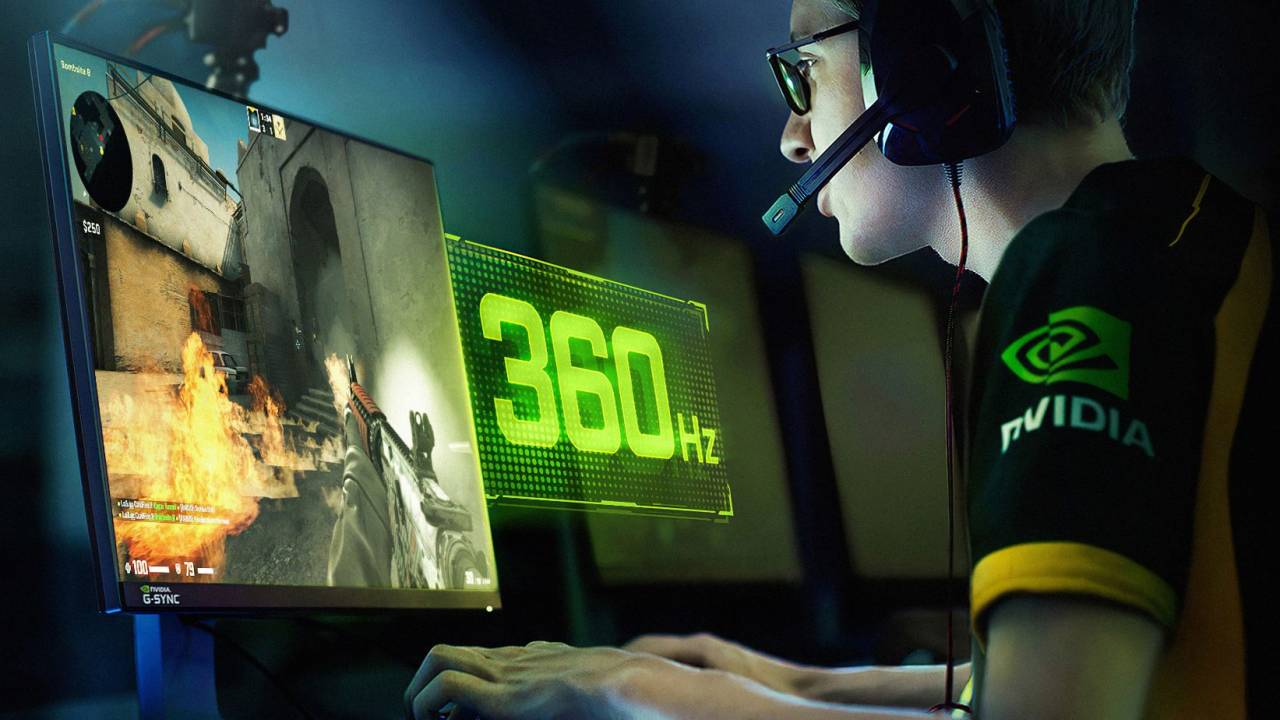 ASUS ROG and NVIDIA reveal 360Hz G-SYNC display made for esports