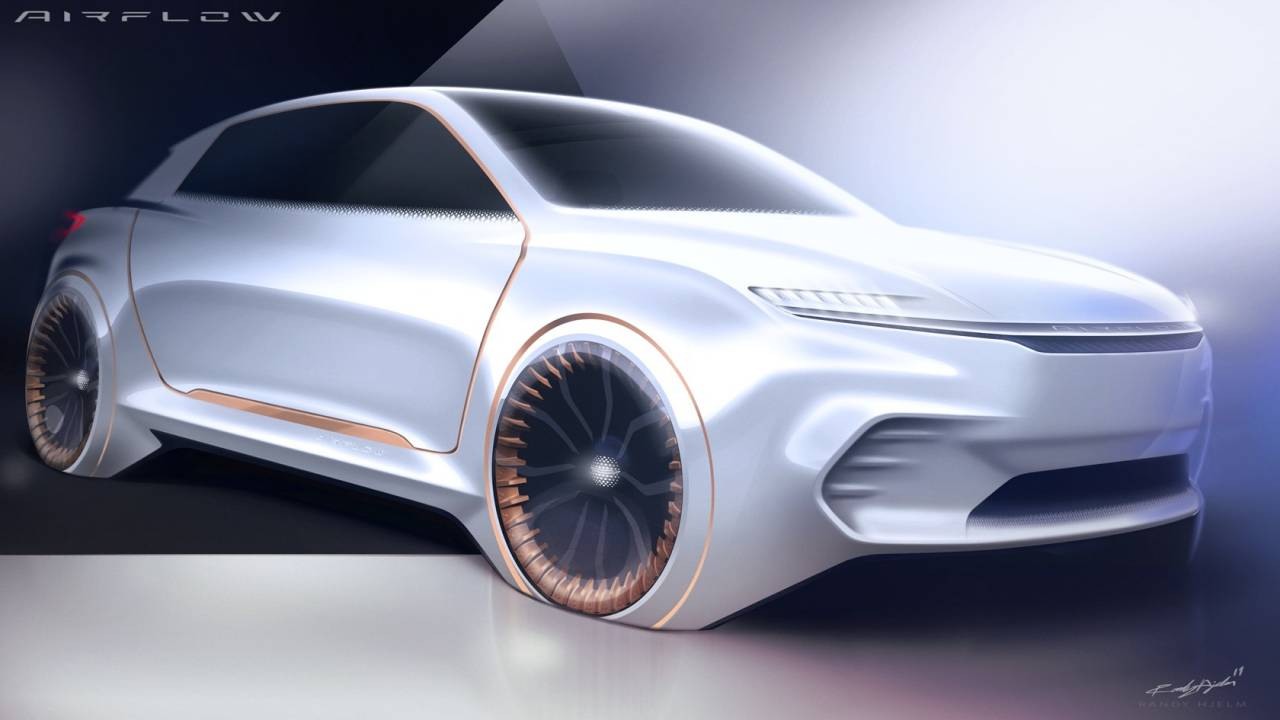 Airflow Vision Concept gives glimpse of Chrysler's high-end EV ambitions
