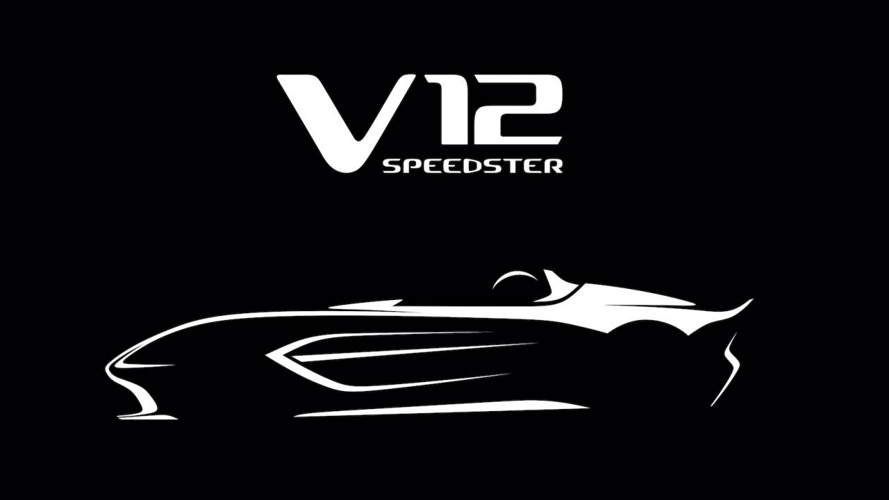 Aston Martin V12 Speedster official: Super-limited open top coming 2021