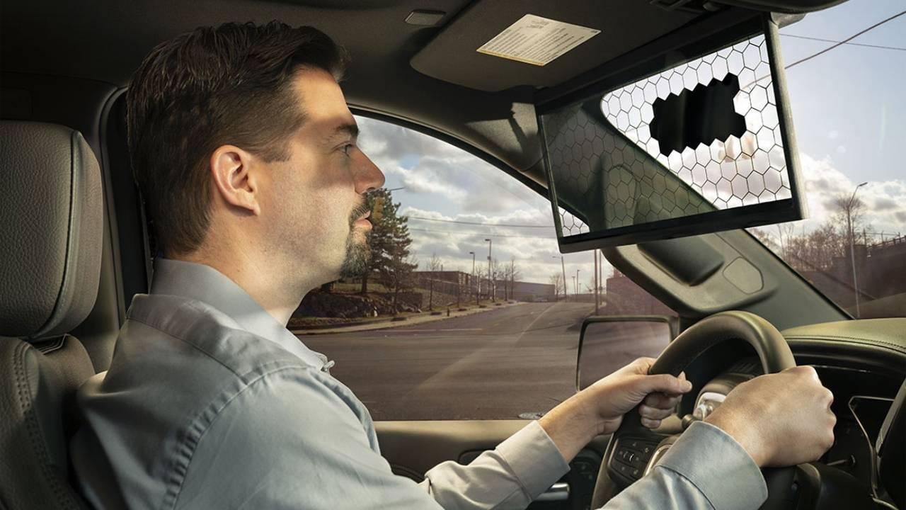 Bosch revamps sun visor with the Virtual Visor
