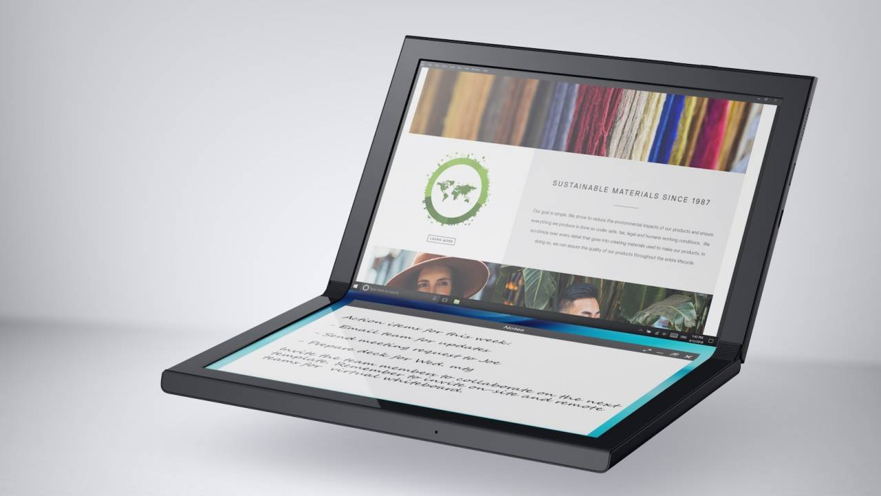 Dell Concept Duet and Concept Ori are Windows foldables for the future