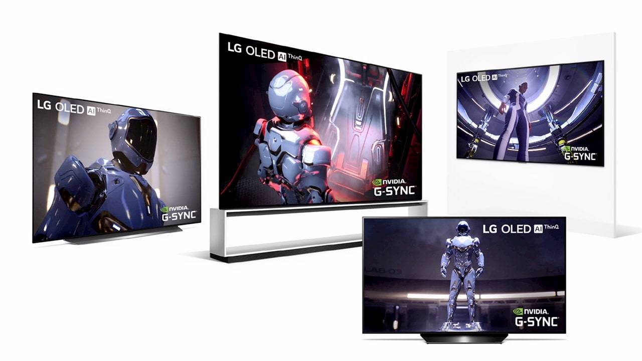 LG 2020 OLED TVs go big (and small) at CES