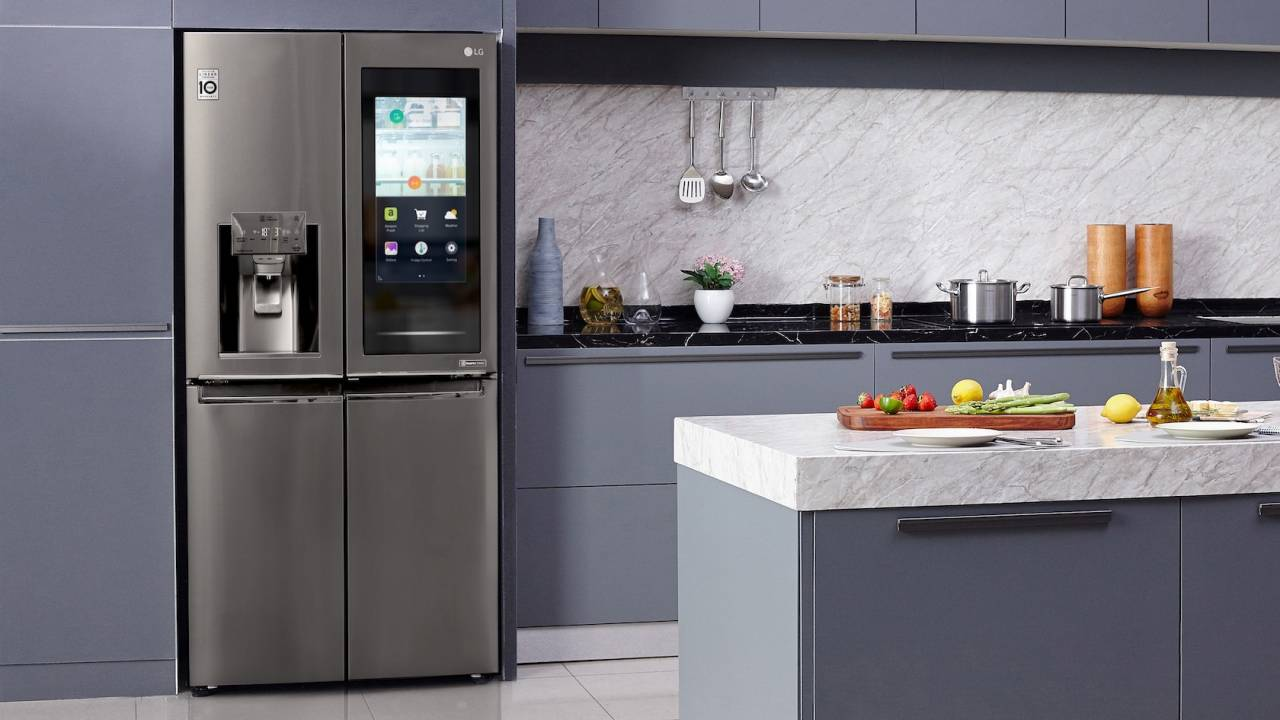 LG and Samsung's lavish smart fridges get smarter for CES 2020