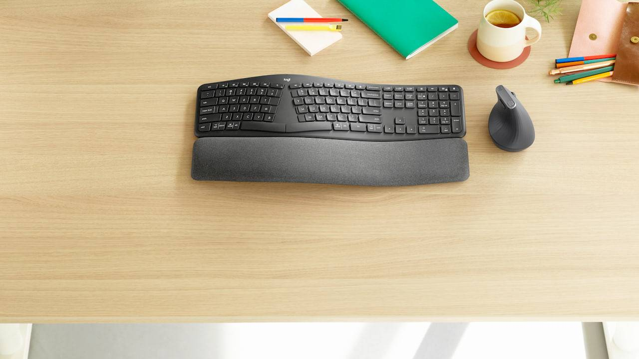 Logitech Ergo K860 keyboard is the perfect MX Vertical companion