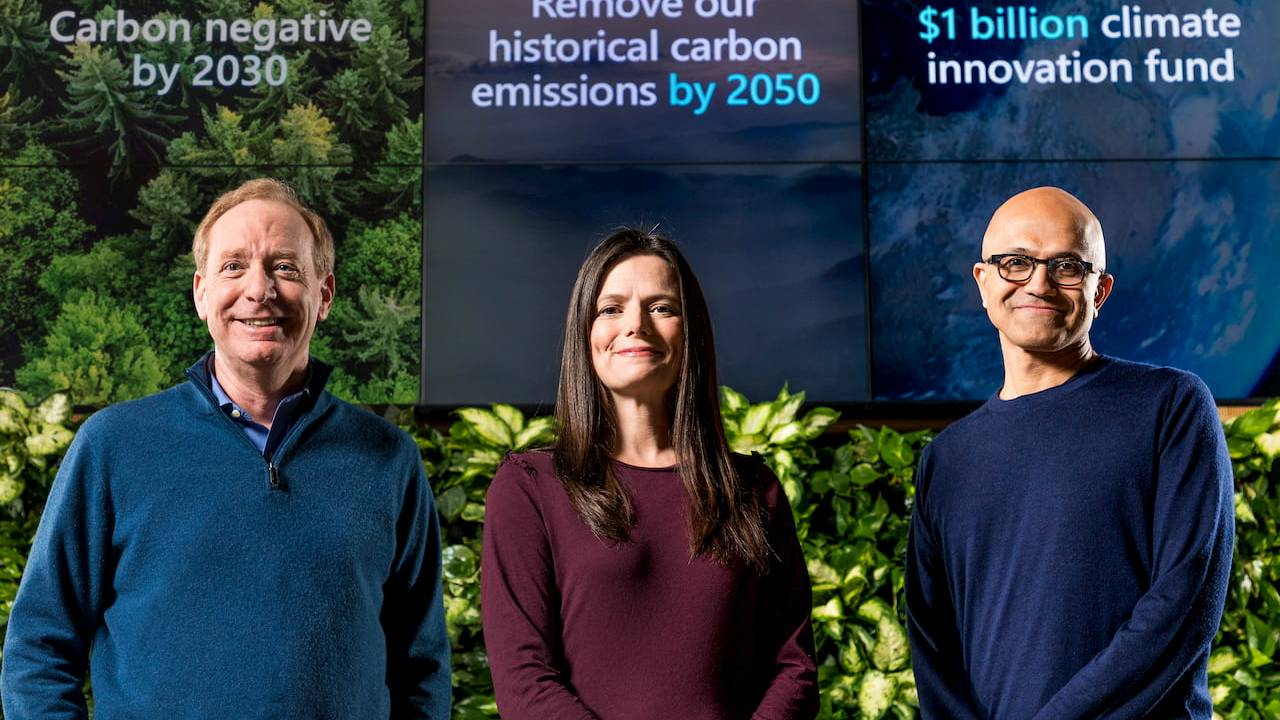 Microsoft makes Carbon Negative pledge: Here's what that means