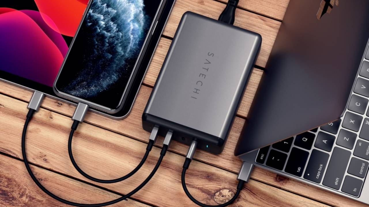 Satechi 108W Pro USB-C PD Charger won't split power among your devices