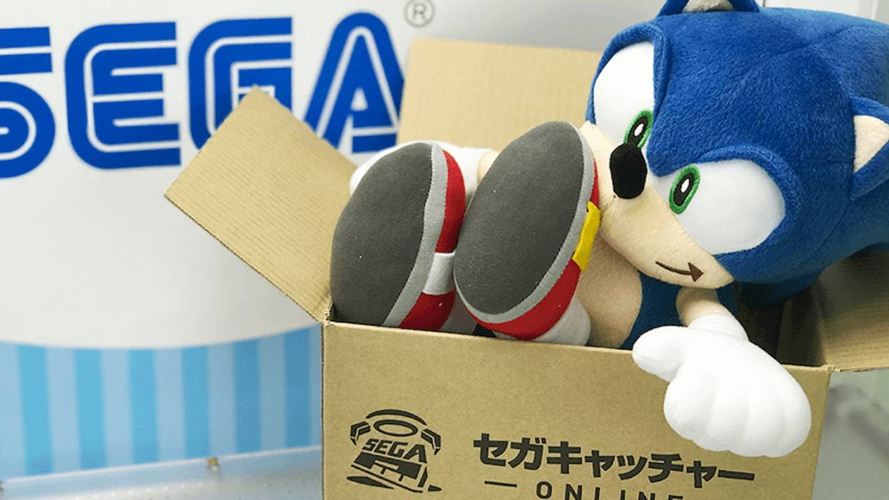 Sega Catcher Online lets you play real claw machines from half a world away