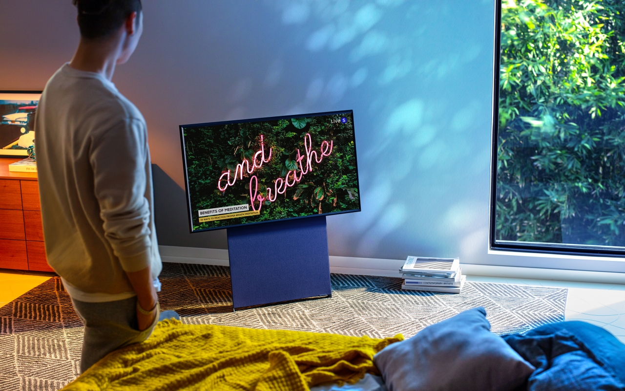 Samsung Qled 8k Sero Frame Microled Tvs Lead The Ces 2020 Charge Slashgear