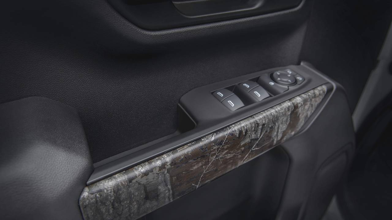 2021 Chevrolet Silverado Realtree Edition is a Trail Boss underneath