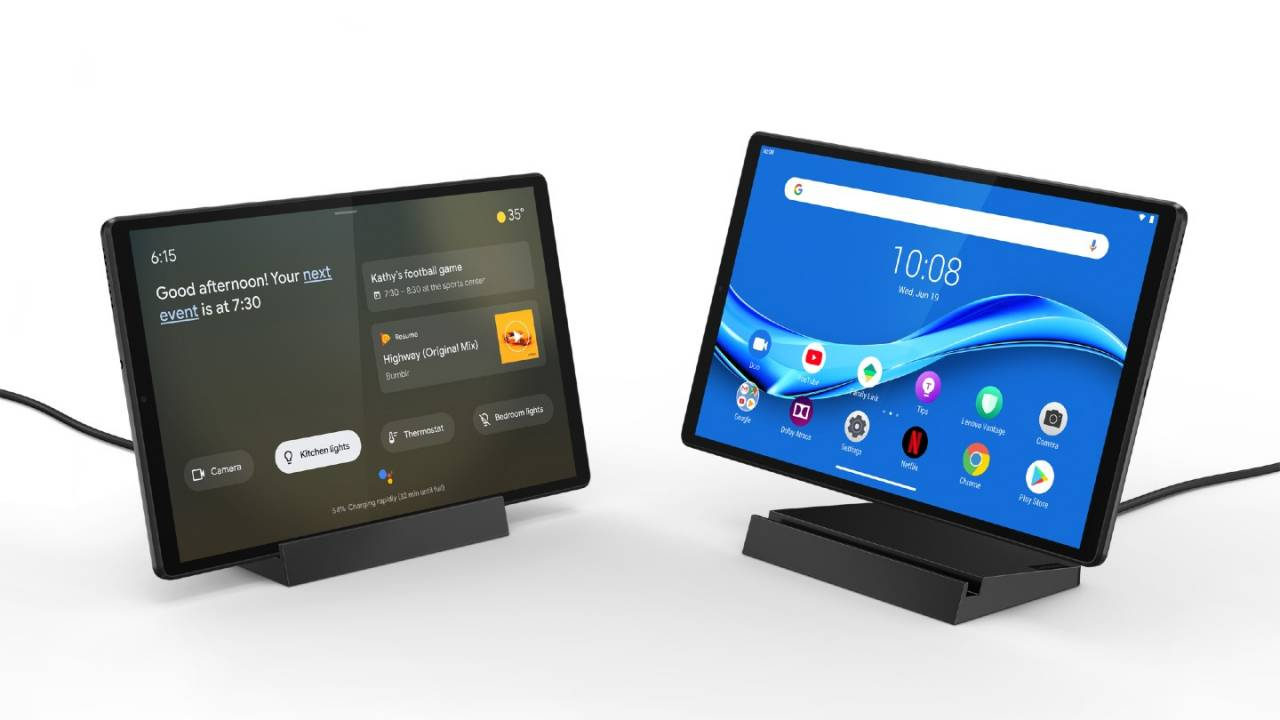 Lenovo Smart Tab M10 and Smart Frame are made for connected homes