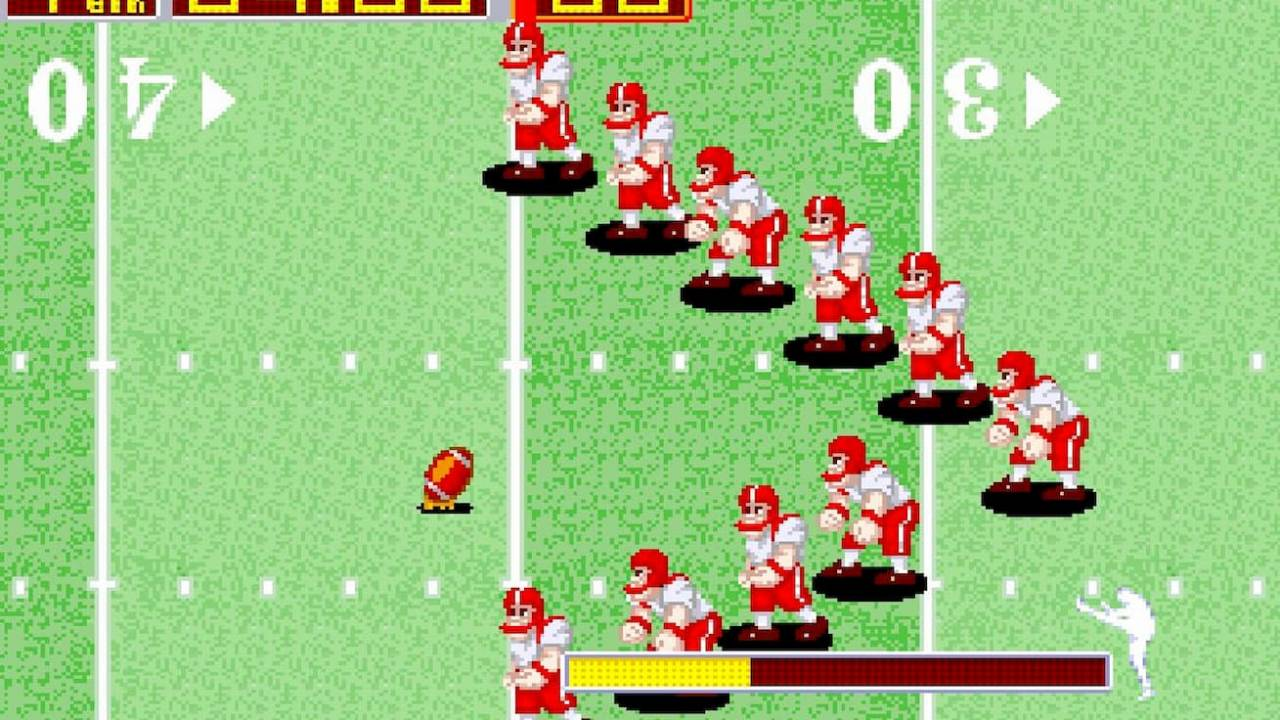 Arcade classic Tecmo Bowl lands on Switch and PS4 this week