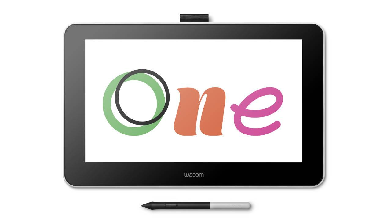 Wacom One is an entry-level pen display for budding artists