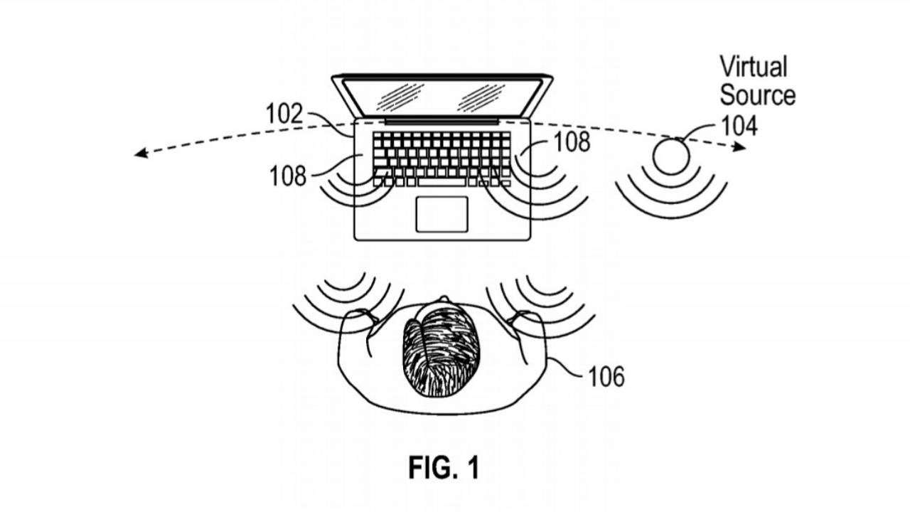 Apple patent makes MacBook audio sound like it's coming from other places