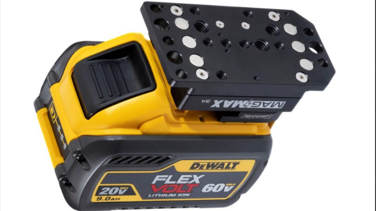 Kessler adapter turns power tool battery into USB power bank