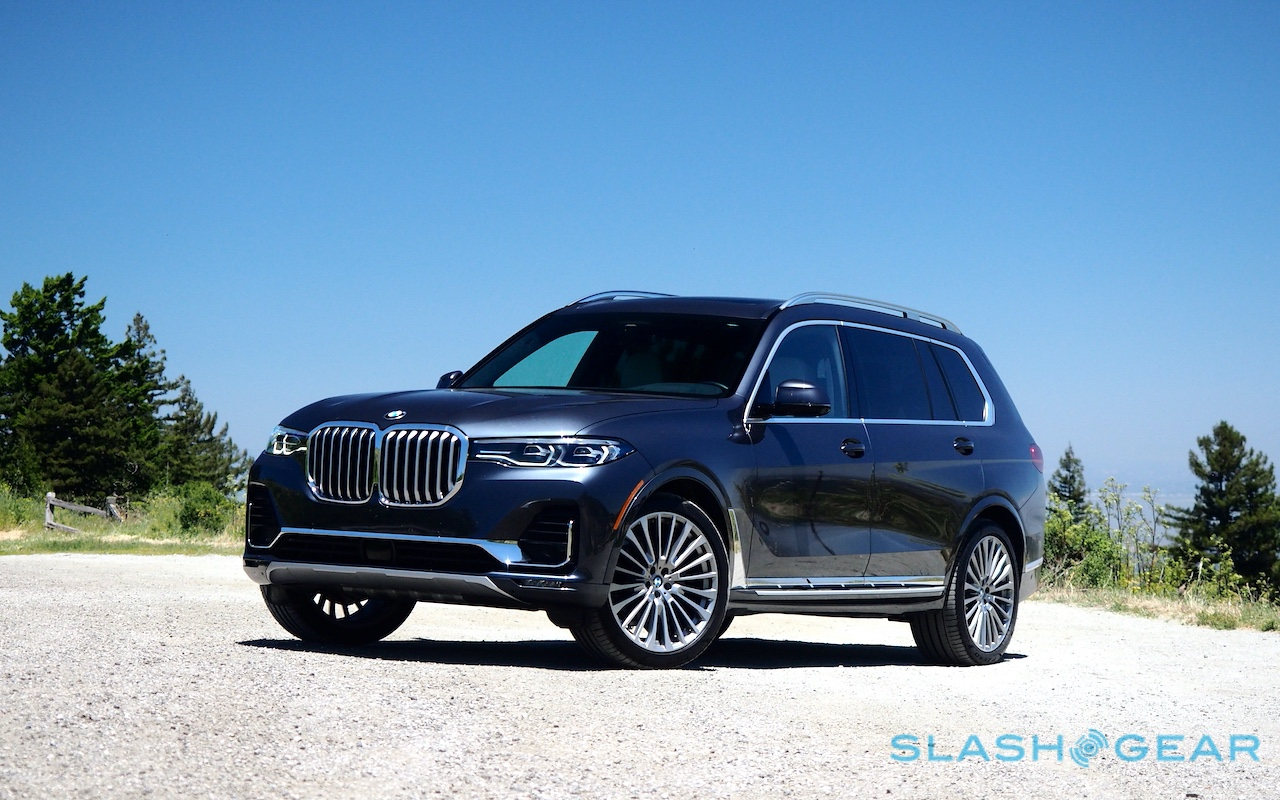 Big Brash And Potent The Bmw X7 Suv Makes Some Serious Claims Slashgear