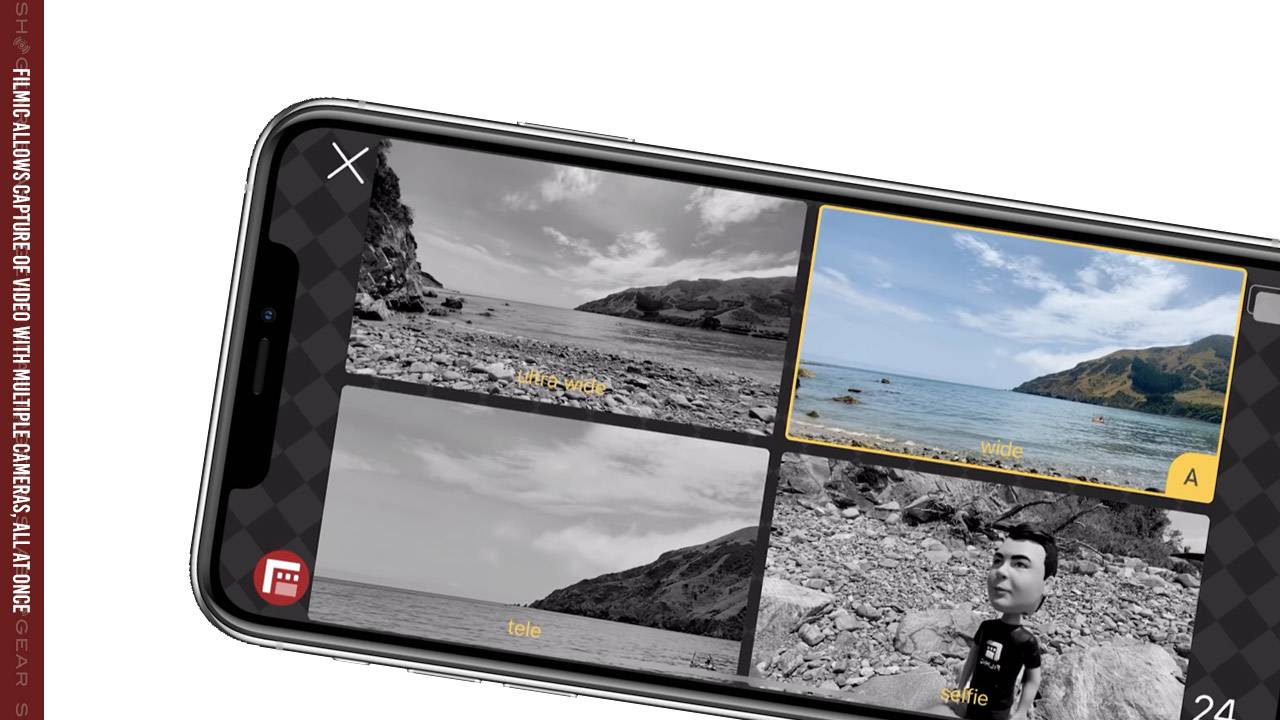 FiLMiC DoubleTake allows 2x separate camera capture at once on iPhone