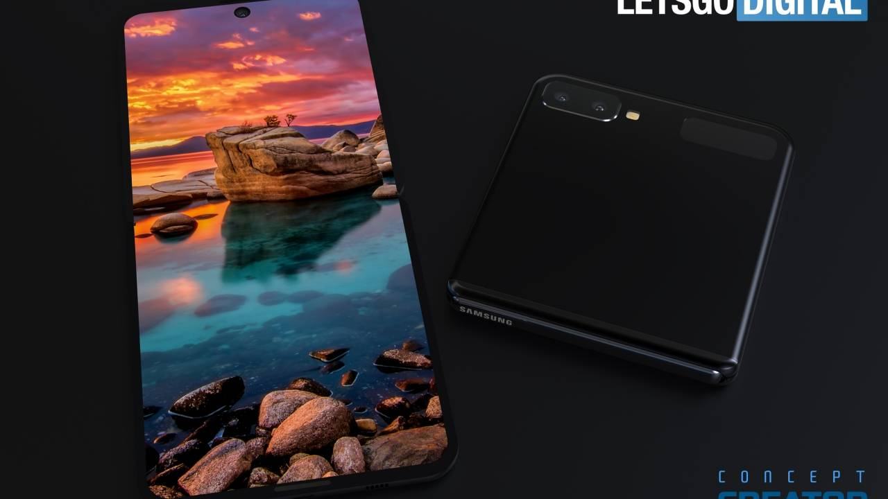 If the Galaxy Fold 2 looks like this, count me in