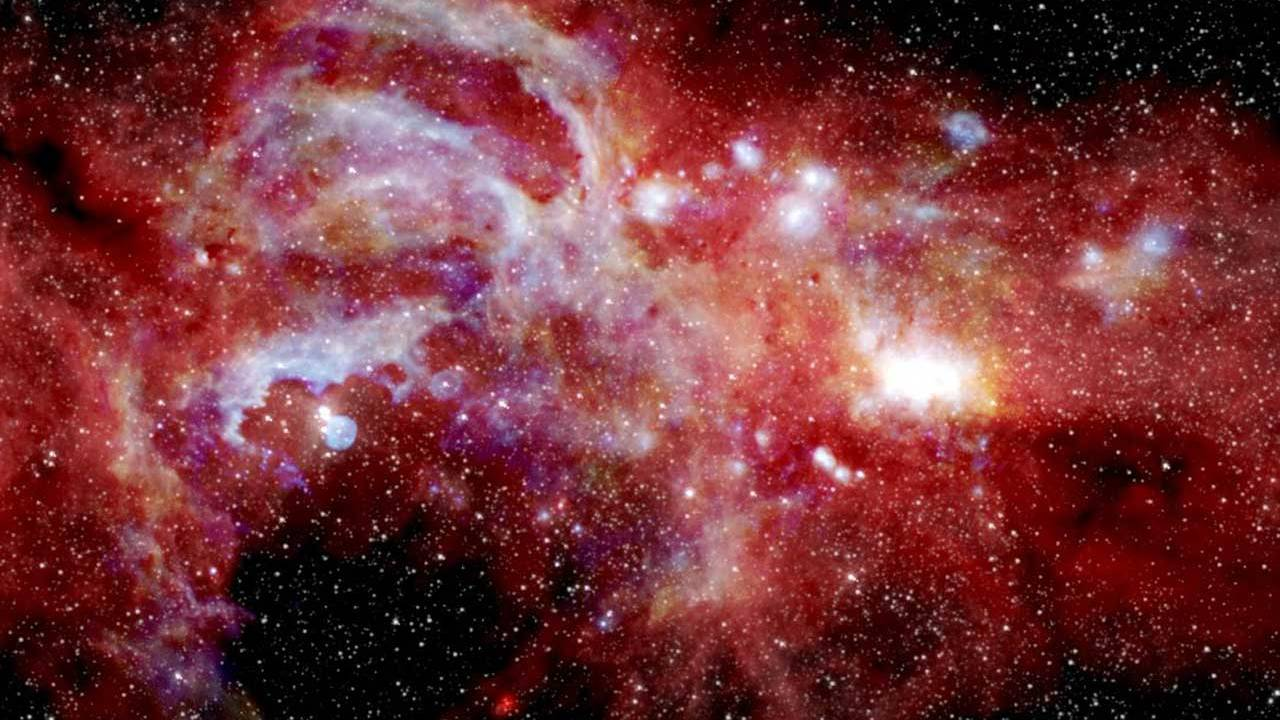 A new image shows the activity at the center of the galaxy