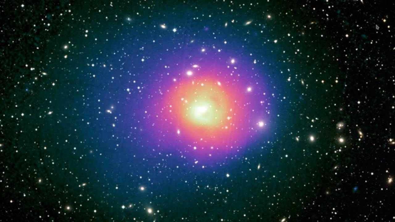 ESA XMM-Newton X-ray observatory sees hot gas sloshing in a galaxy