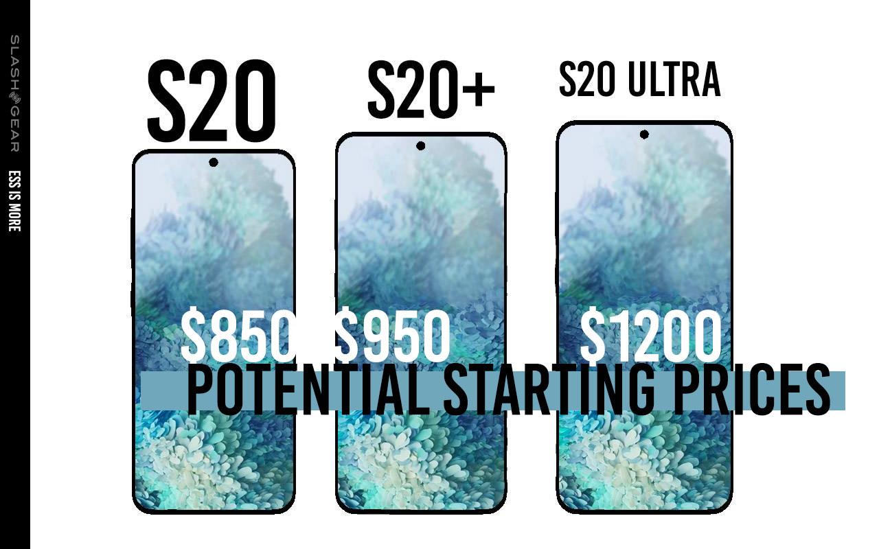 Galaxy S20 5g Release Date And Price List Leaked En Masse Slashgear
