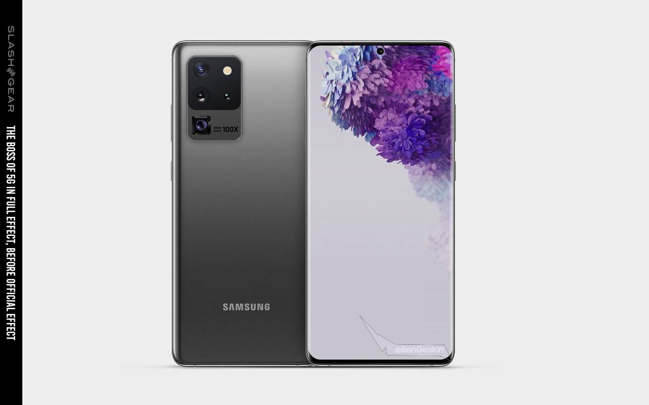 Galaxy S20 Ultra Image Envisions World S Best 5g Phone Slashgear