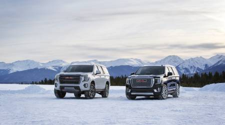 2021 GMC Yukon and Yukon XL line includes Denali and AT4 trims