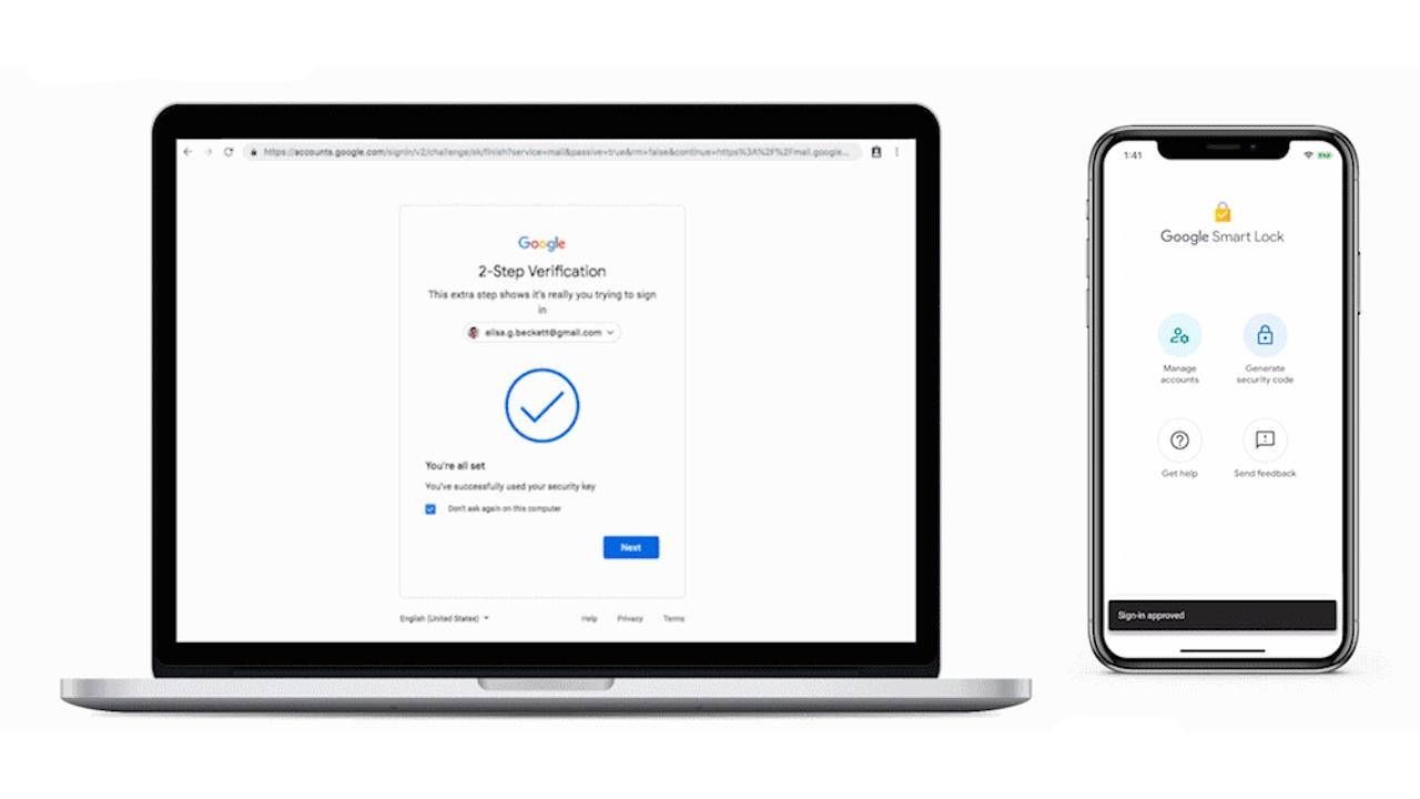 Google Advanced Protection can now use Android, iPhones as security keys