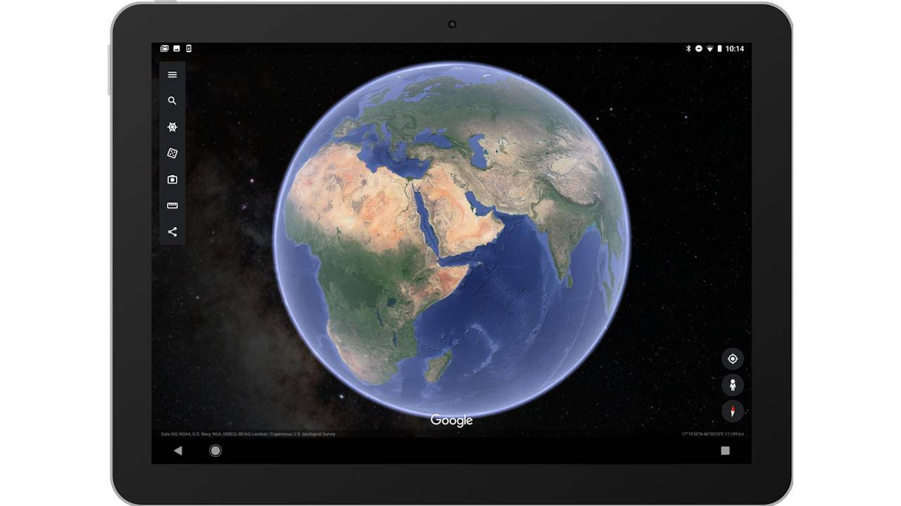 Google Earth mobile app can now show you some of the stars