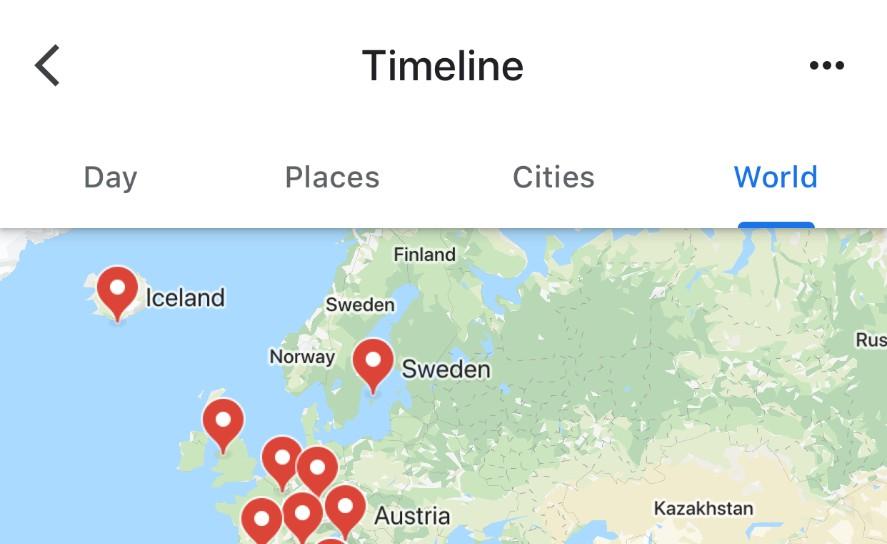 Google Maps Update Brings New Timeline To Ios Slashgear