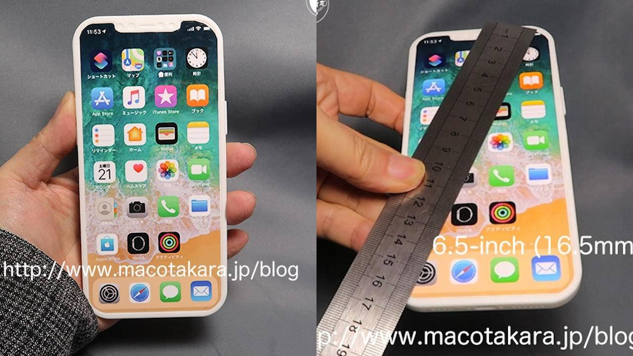 2020 iPhones leak point to larger sizes, similar design