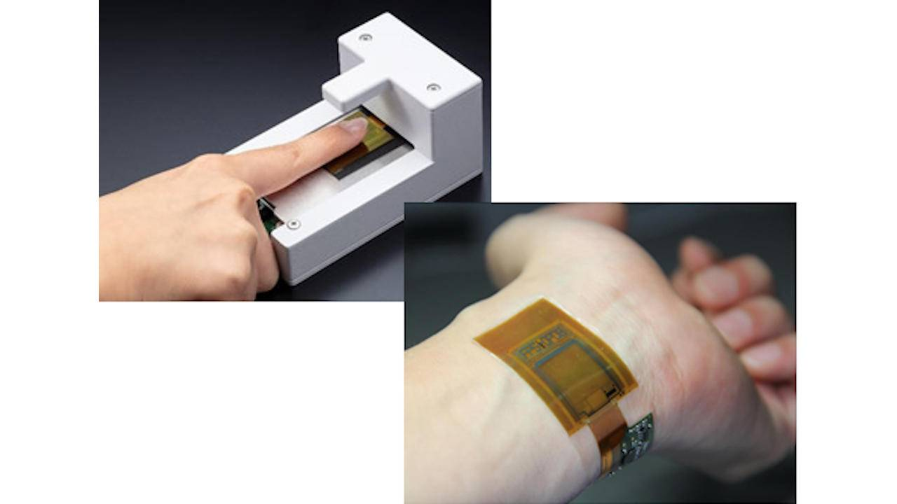 JDI paper-thin bendable image sensor reads pulse waves and fingerprints