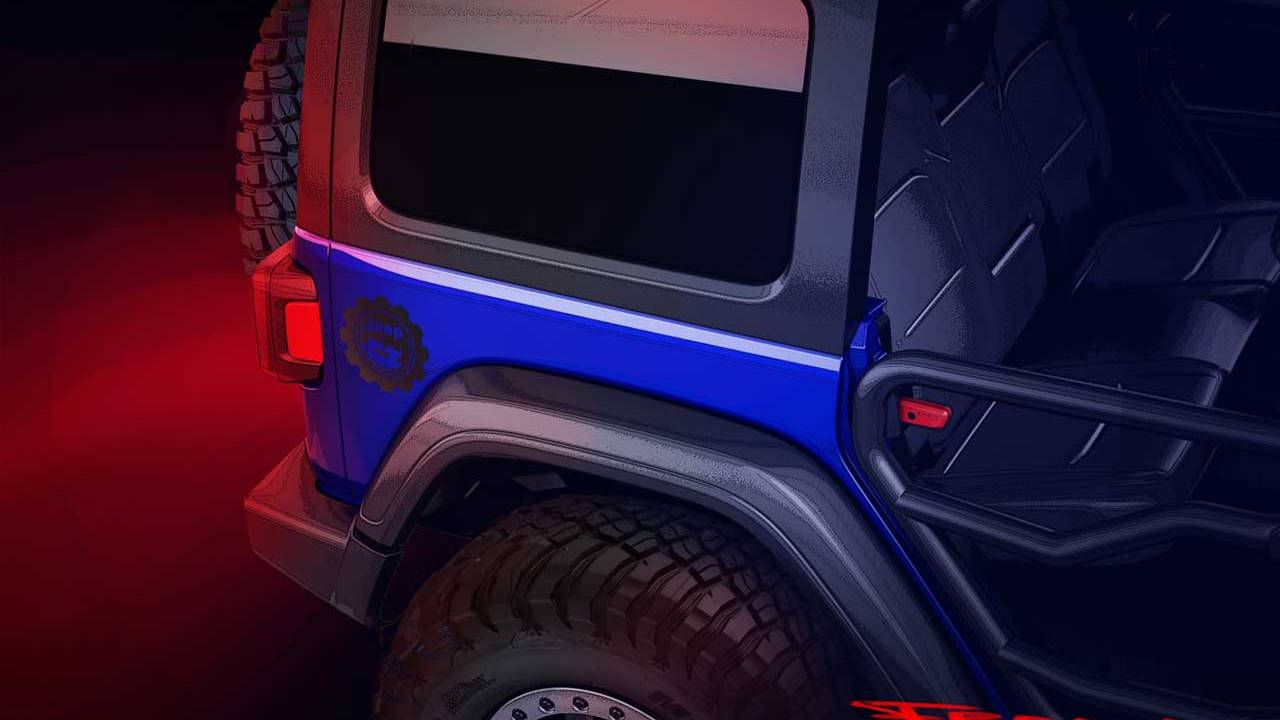 Jeep teases Jeep Performance Parts limited edition Wrangler