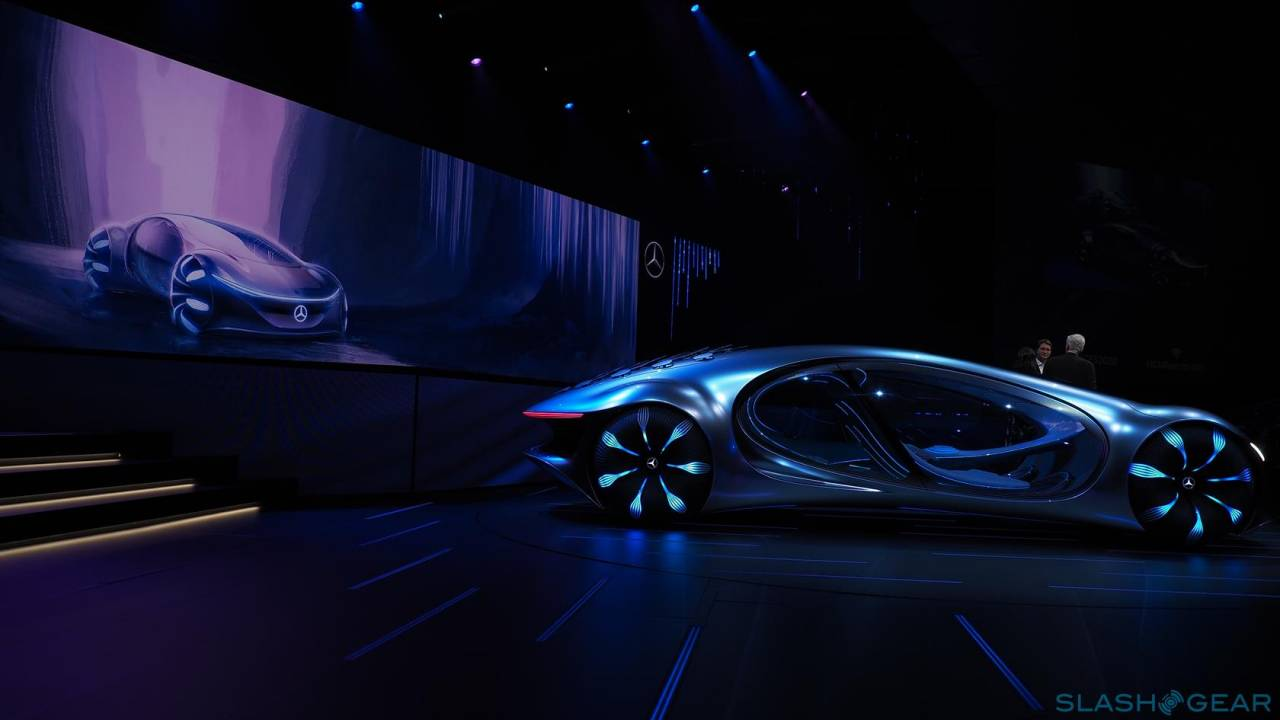 The Mercedes-Benz VISION AVTR is more than just an Avatar-inspired concept