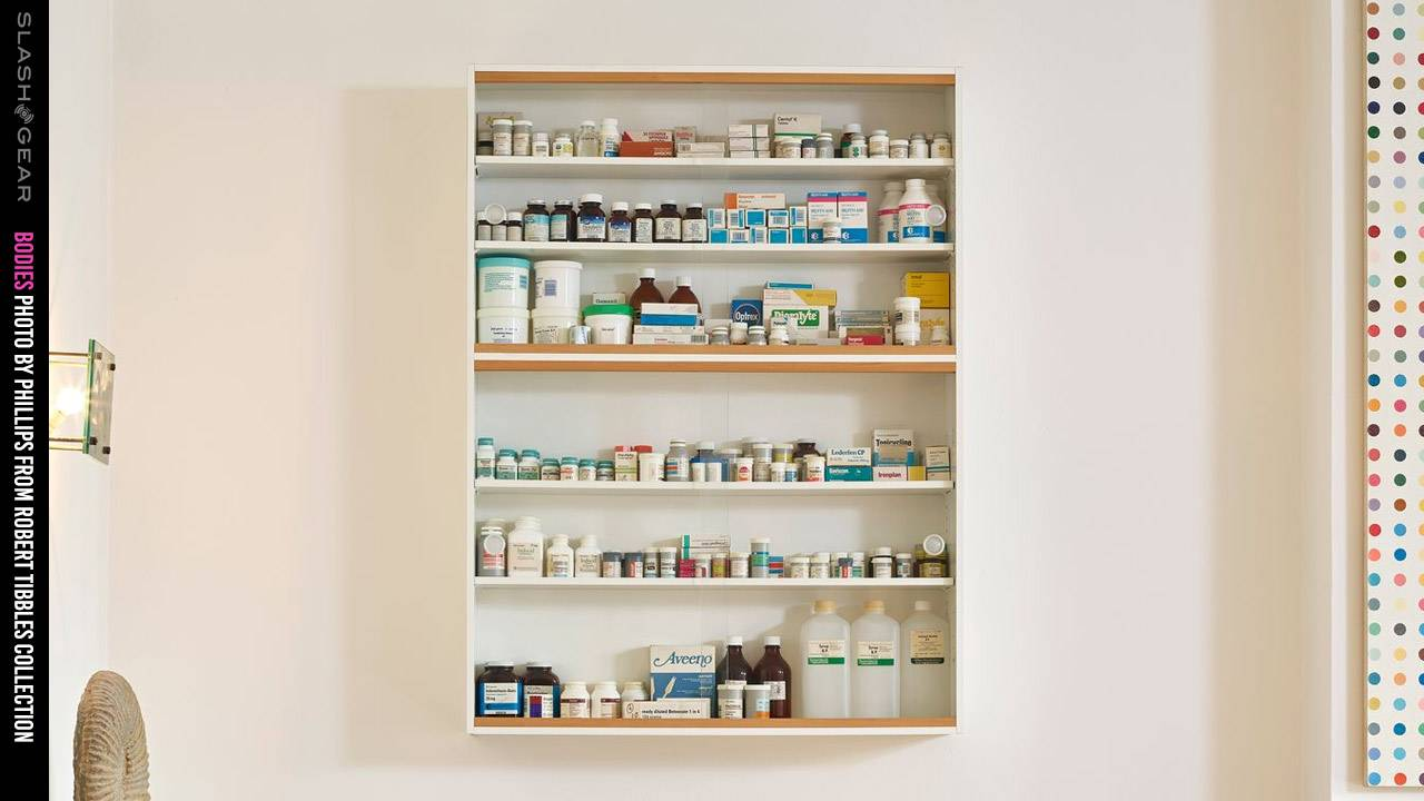 1989 Damien Hirst USD$1k medicine cabinet could sell for millions in 2020
