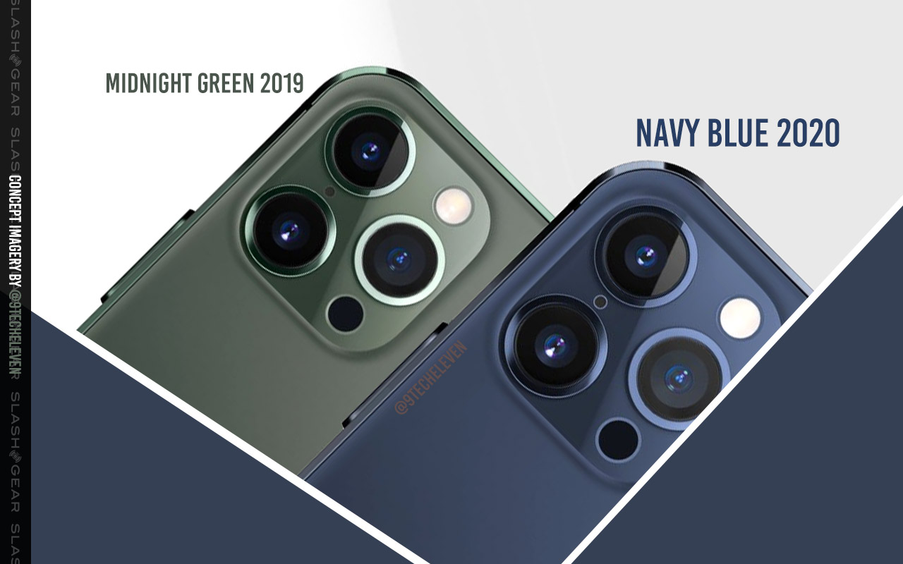 Which New Iphone 12 5g Color Will You Choose Update Navy Blue Tipped Slashgear