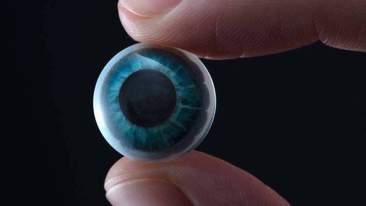 This Mojo Vision smart contact lens is straight out of sci-fi
