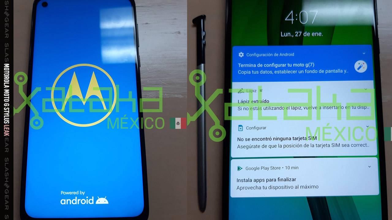 Moto G Stylus leaks with Motorola's full device list for February