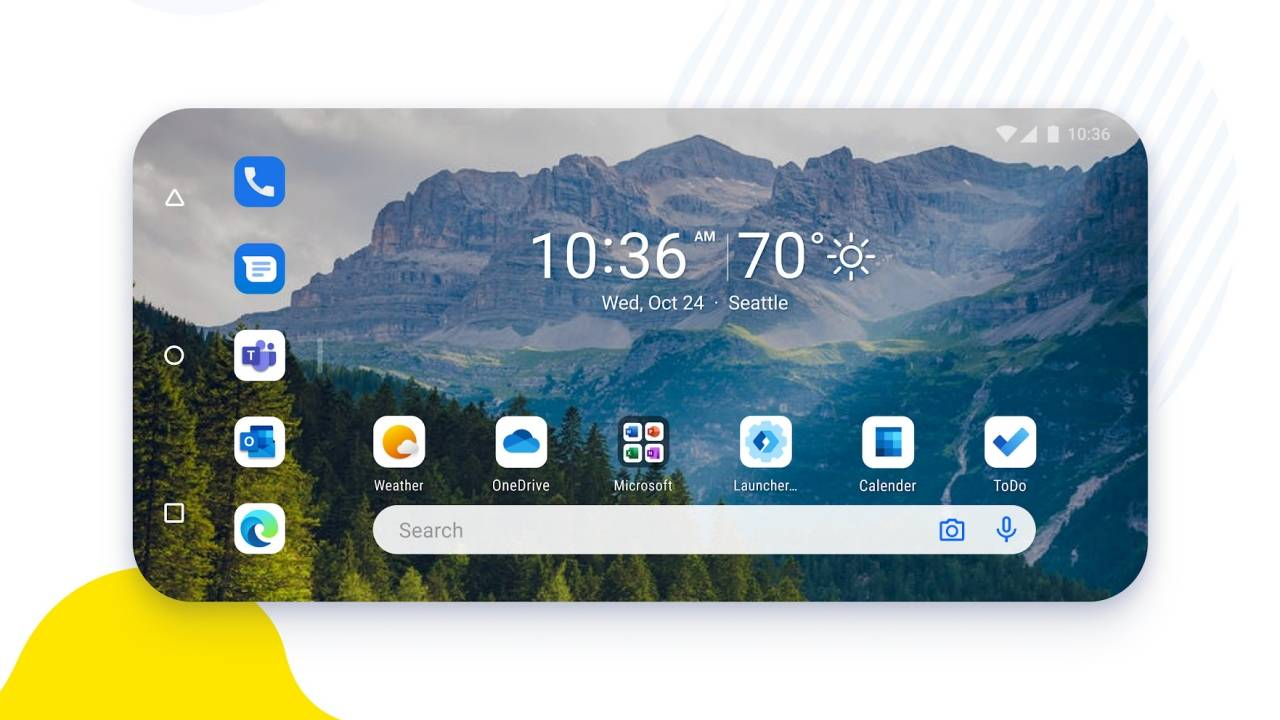 Microsoft Launcher 6.0 Preview gives a glimpse of the Surface Duo